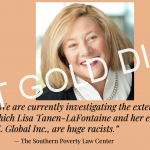 Cheater and Fatty Lisa Tanen-LaFontaine Set to Ruin Connecticut Life Insurance Association with Stupidity and Racism
